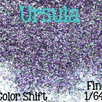"1oz Fine 1/64"" Size Loose Glitter, Shimmer Glitter, Sold By The Ounce, Purple Color Shift Glitter, URSULA (color in main photo)"
