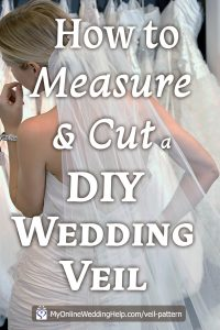 How to Make a Wedding Veil with Comb. 5 Steps! 3