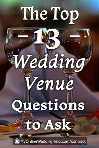 15 Must-Know Questions to Ask Your Wedding Venue. Complete Guide. 5