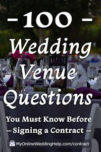 15 Must-Know Questions to Ask Your Wedding Venue. Complete Guide. 4