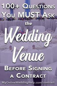 15 Must-Know Questions to Ask Your Wedding Venue. Complete Guide. 3