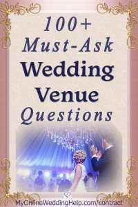 15 Must-Know Questions to Ask Your Wedding Venue. Complete Guide. 2