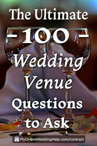 15 Must-Know Questions to Ask Your Wedding Venue. Complete Guide. 1