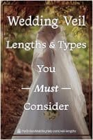 Wedding Veil Lengths & Types You Must Consider