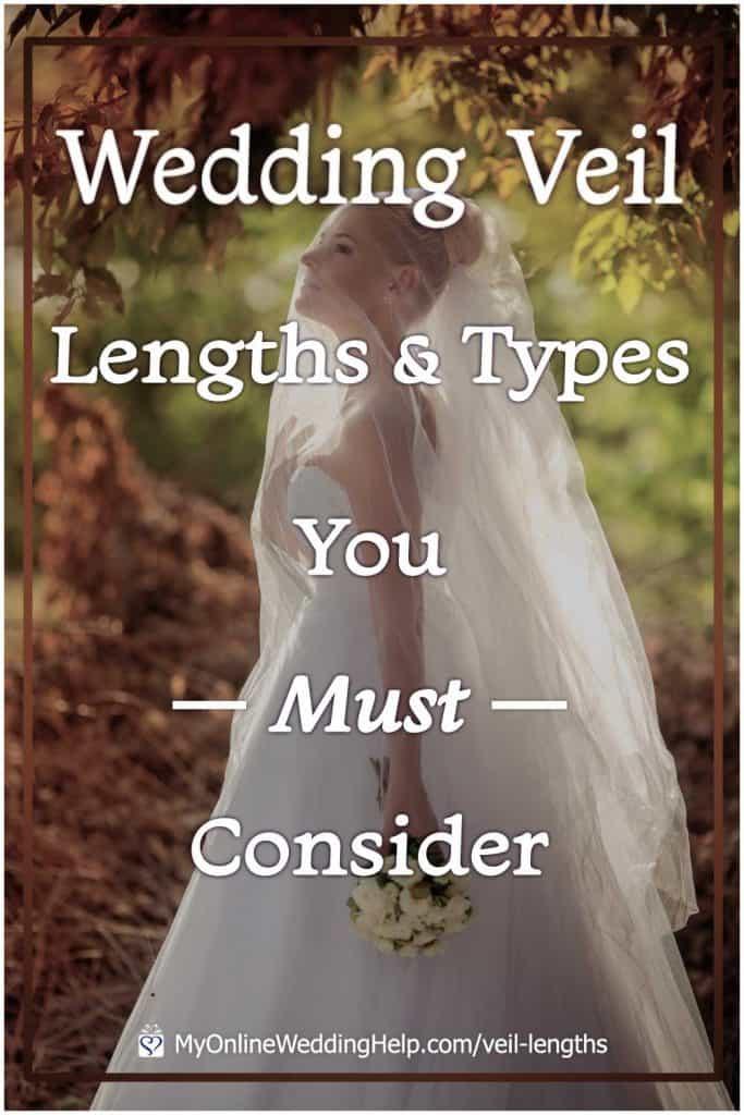 Wedding Veil Lengths & Types You Must Consider