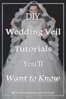 DIY Wedding Veil Tutorials You'll Want to Know