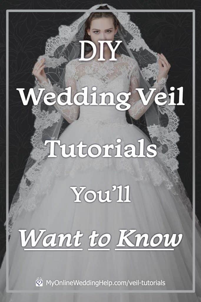 DIY Wedding Veil Tutorials You'll Want to Know