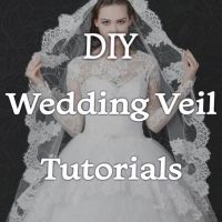 DIY Wedding Veil Tutorials