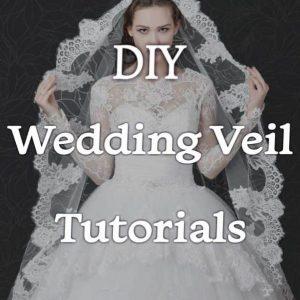 DIY Wedding Veil Tutorials