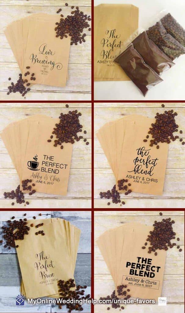 DIY Coffee Bean Favors