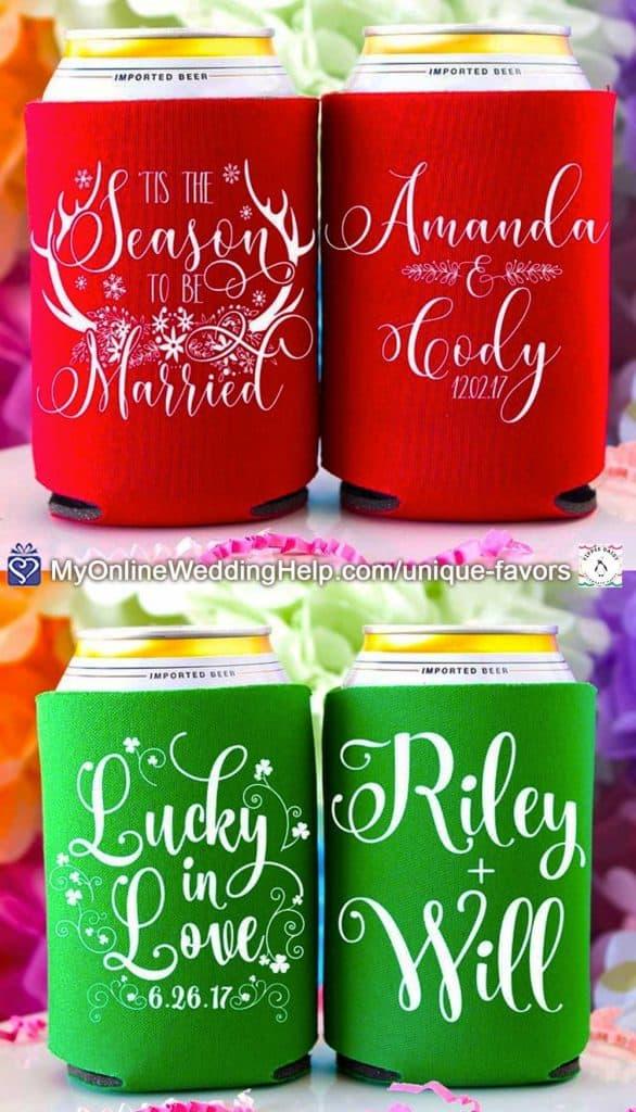 Wedding Can Koozies