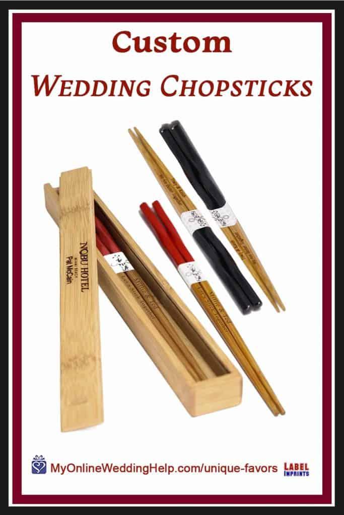 Custom Wedding Chopsticks