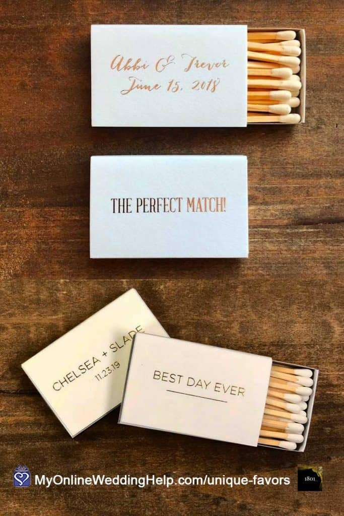 Personalized Wedding Matches