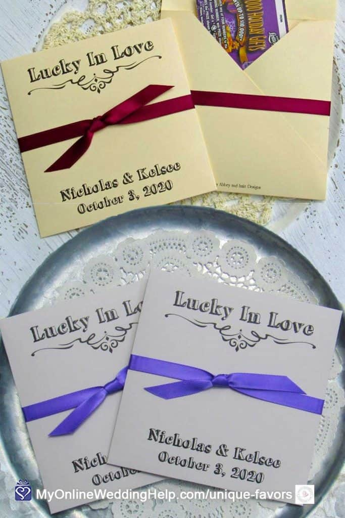 Lottery Ticket Scratch Off Favors