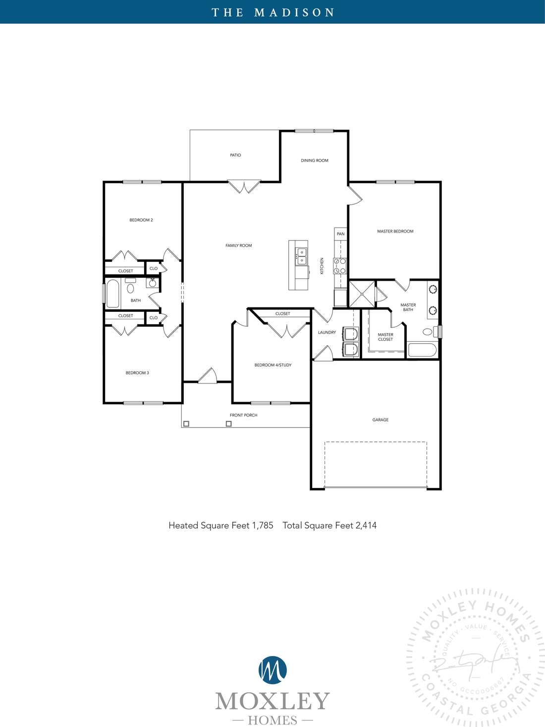 carriage gate plantation, grace crossing, The Madison floor plans