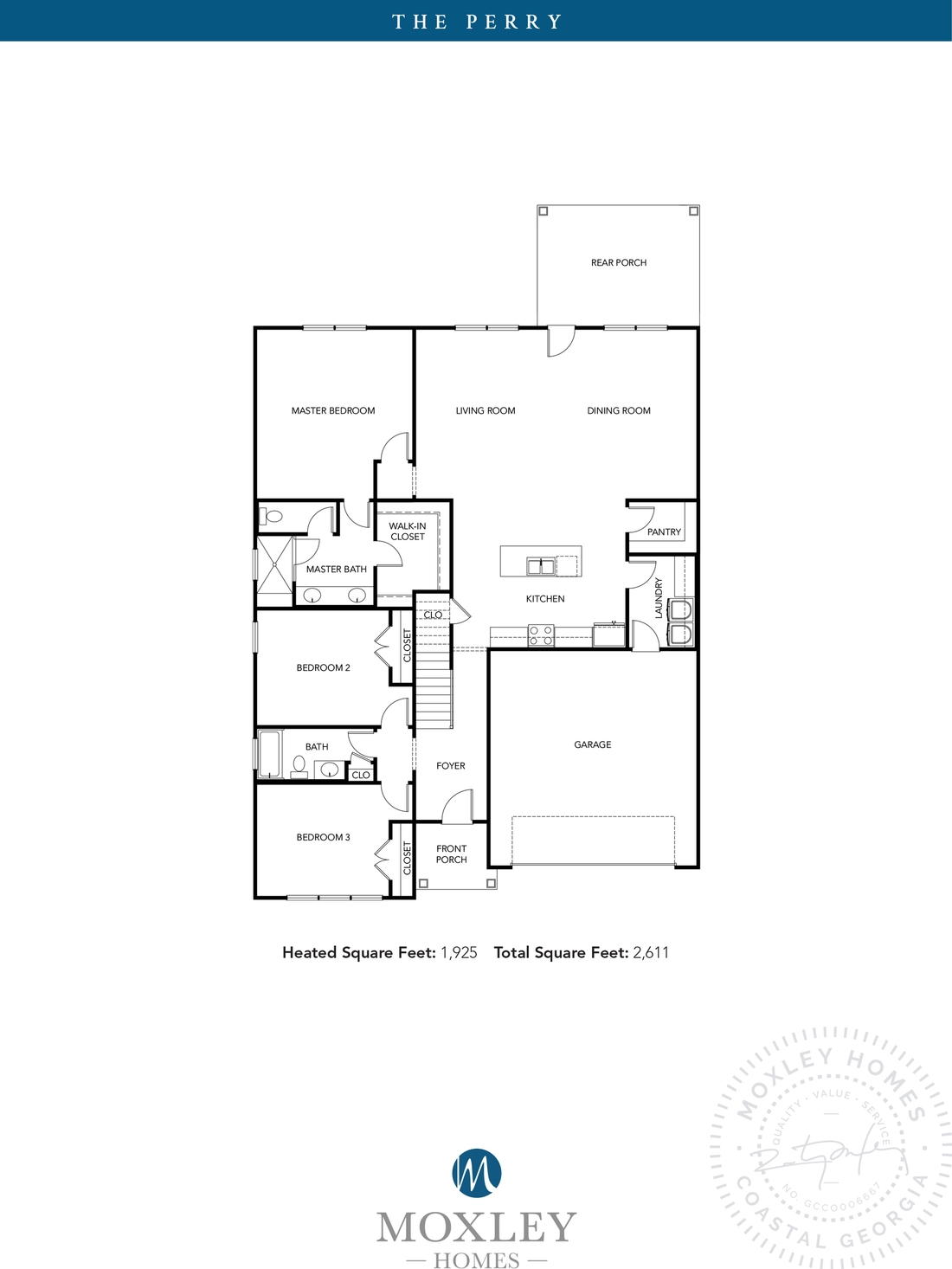 carriage gate plantation, grace crossing, The Perry floor plans