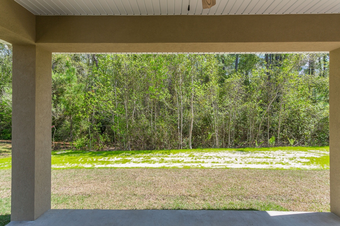 backyard, back porch
