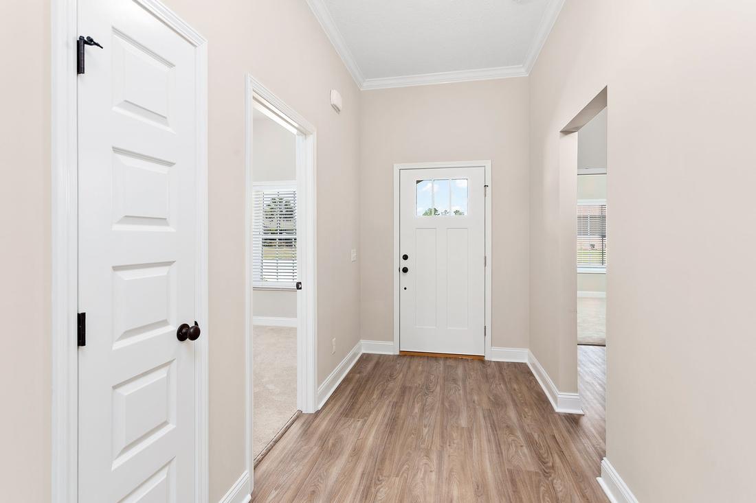 hallway, front door