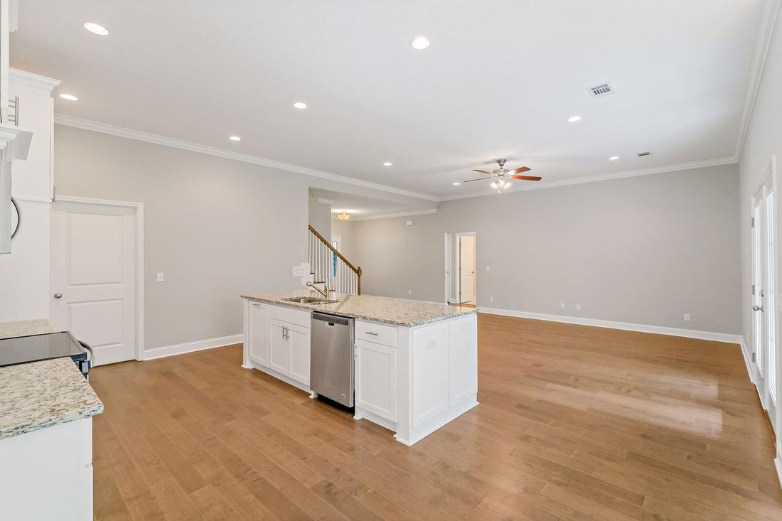 kitchen, dishwasher, kitchen island,