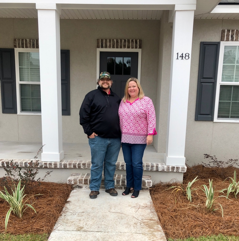 The Ferrell Family - Moxley Homes Homeowner