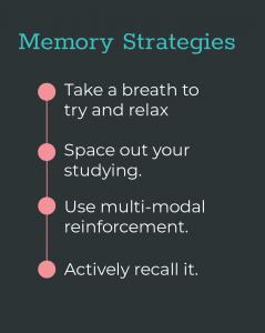Memory Strategies 5