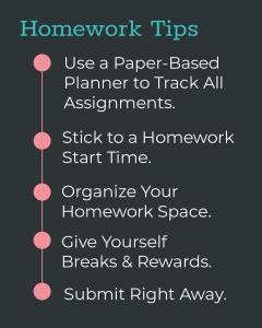 Homework Tips 6