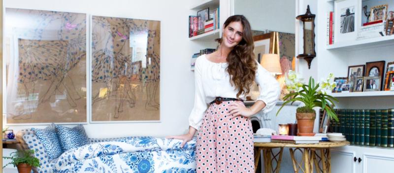 Inside Rebecca de Ravenel's Bohemian Apartment