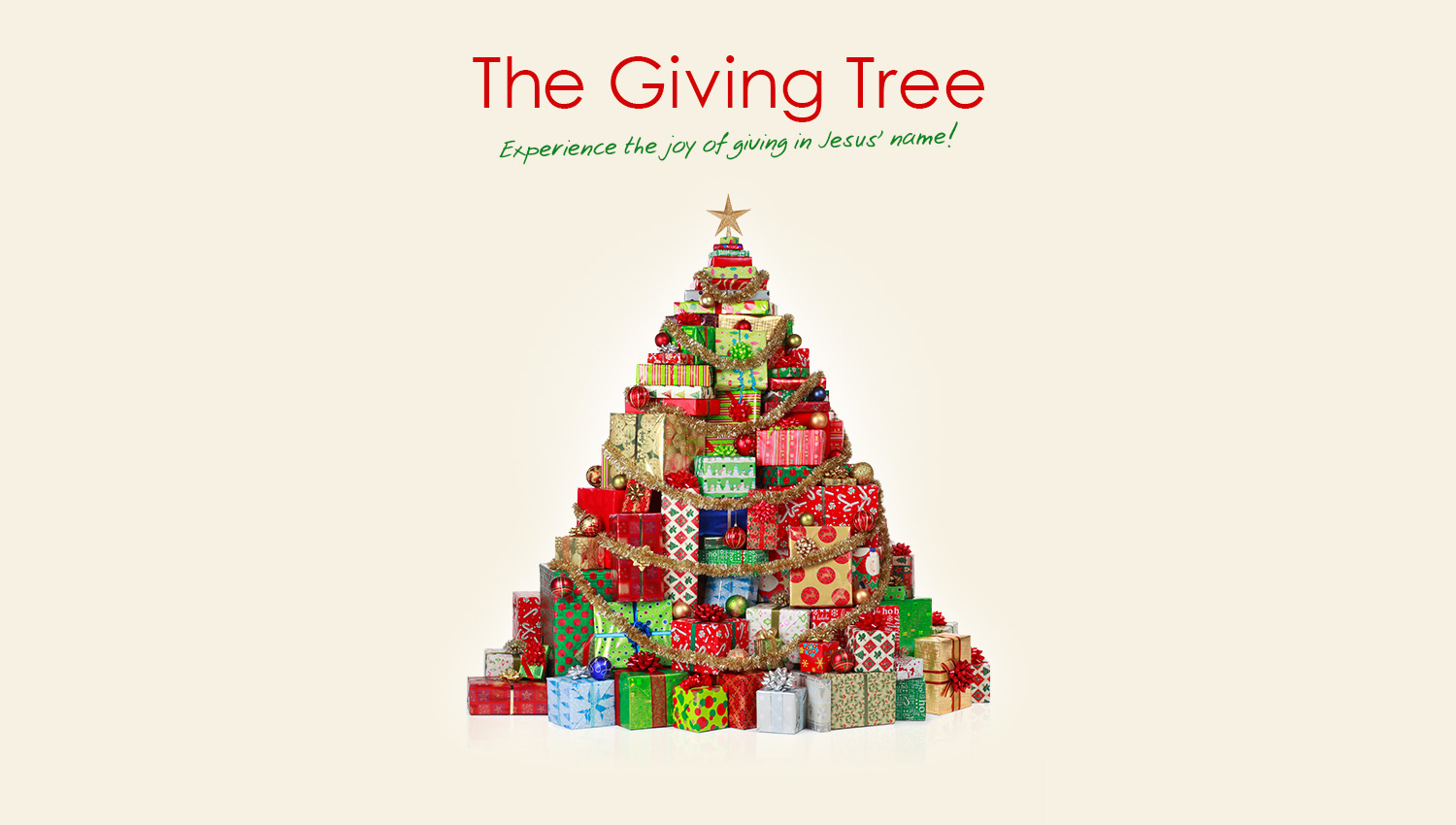 Giving Tree Distribution Weekend