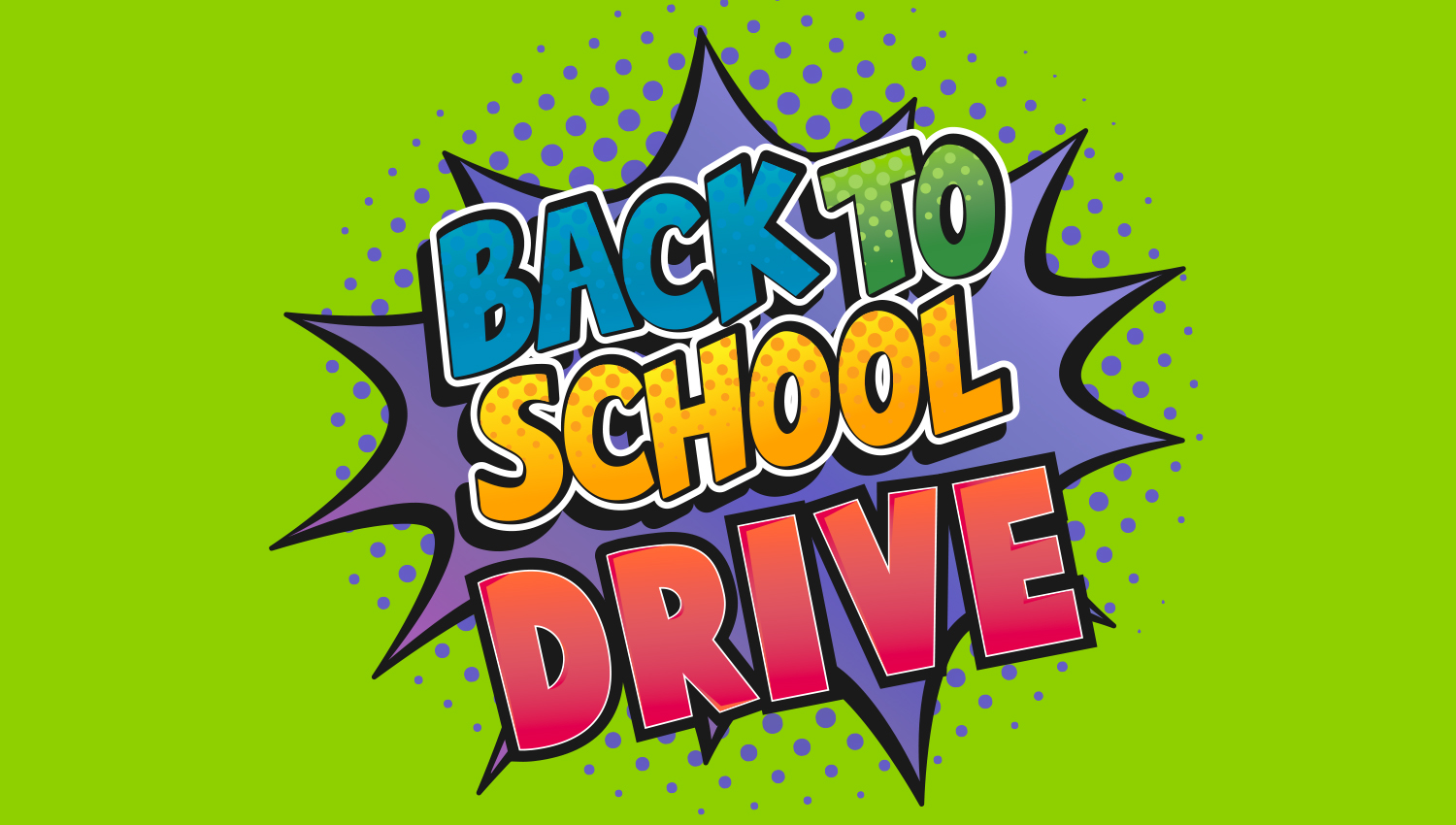 Back to School Drive