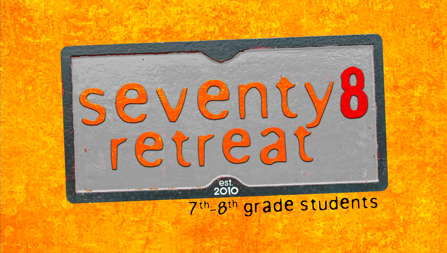 Seventy8  FALL RETREAT
