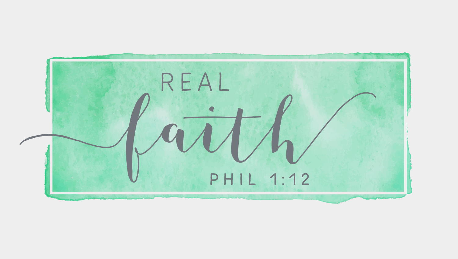 Real Faith - Women