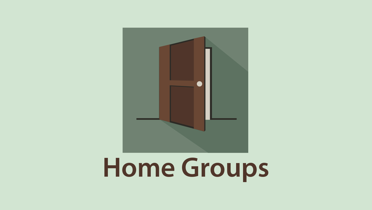 HOME GROUP REGISTRATION