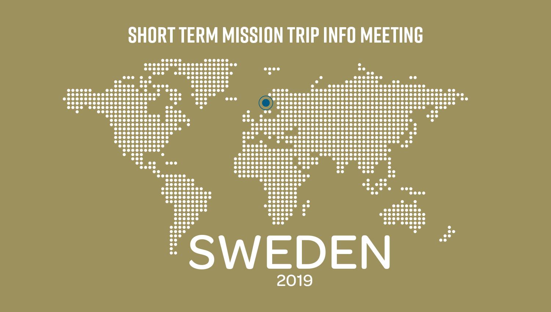 SWEDEN INFO MEETING
