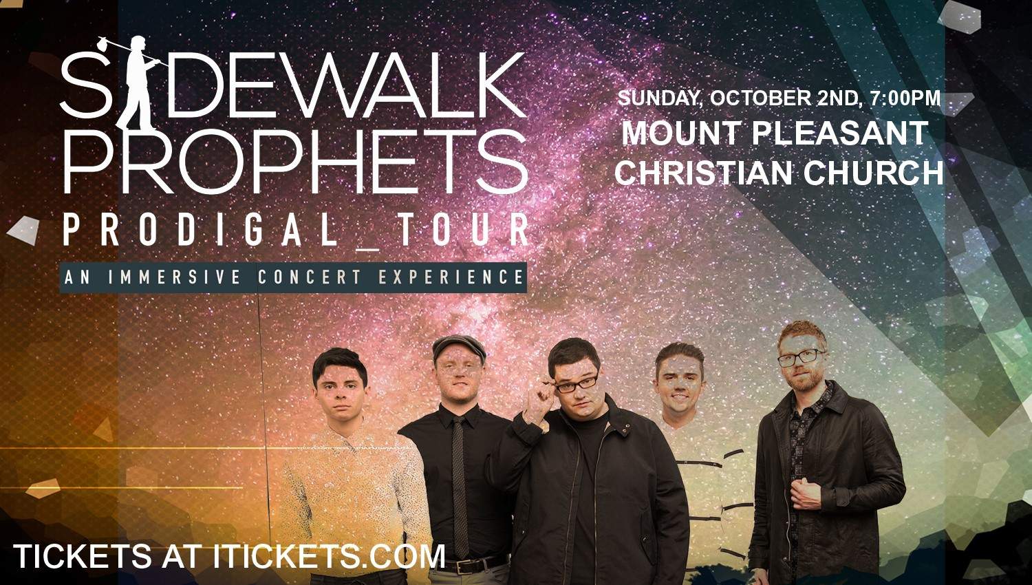 The Prodigal Tour with Sidewalk Prophets