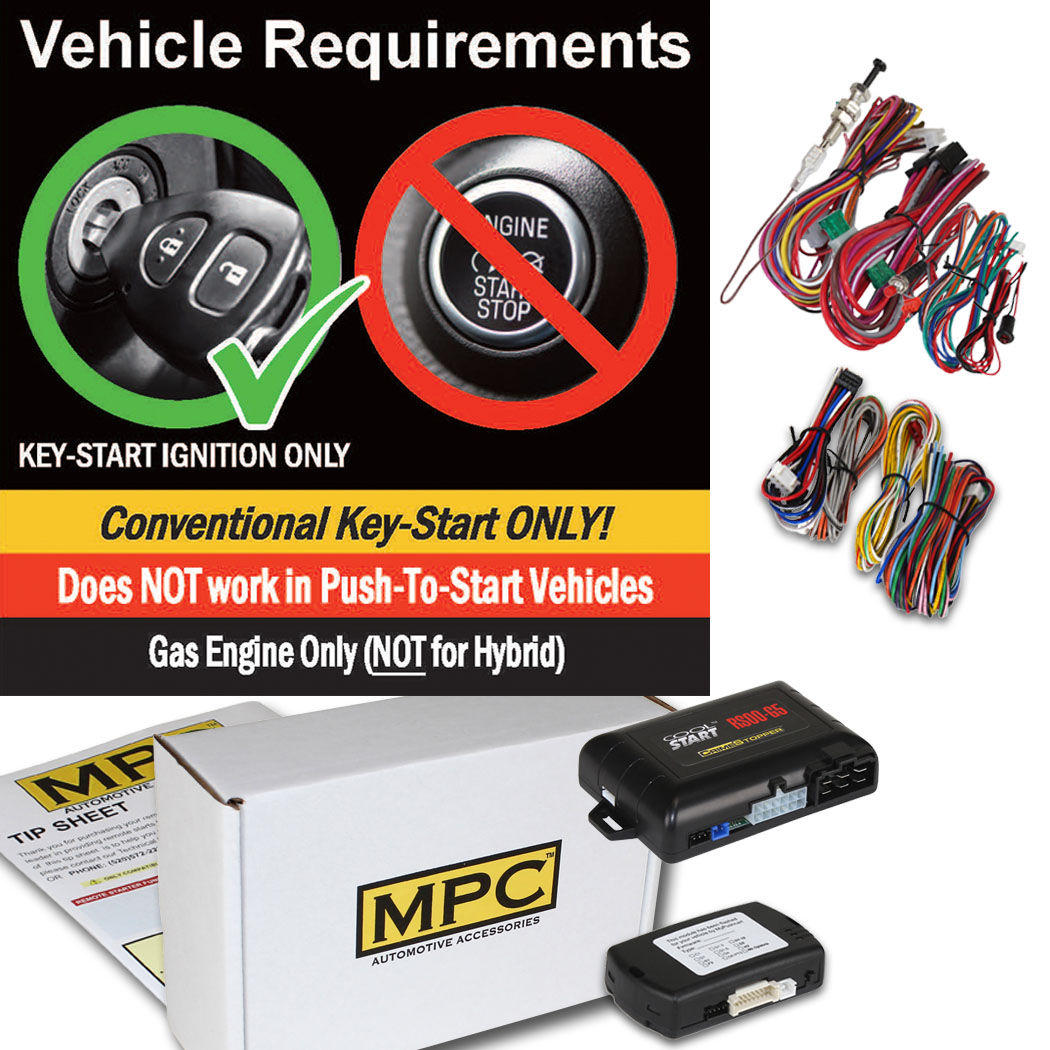 Add-on Remote Start Kit W/T-Harness For 2010-2013 Acura