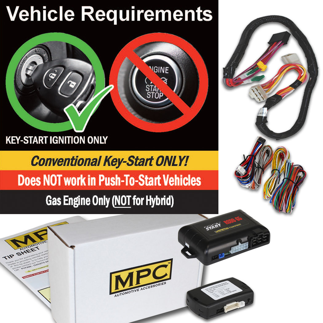 Details about Factory Remote Activated Start Kit For 2017-2018 Hyundai  Santa Fe - Key-to-Start