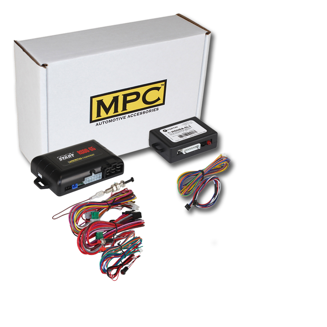 MPC Complete Remote Start Kit with Keyless Entry for 2001-2005 Honda Civic USA Based Tech Support 2 Includes Gas 5-Button 1-Way Remotes Key-to-Start