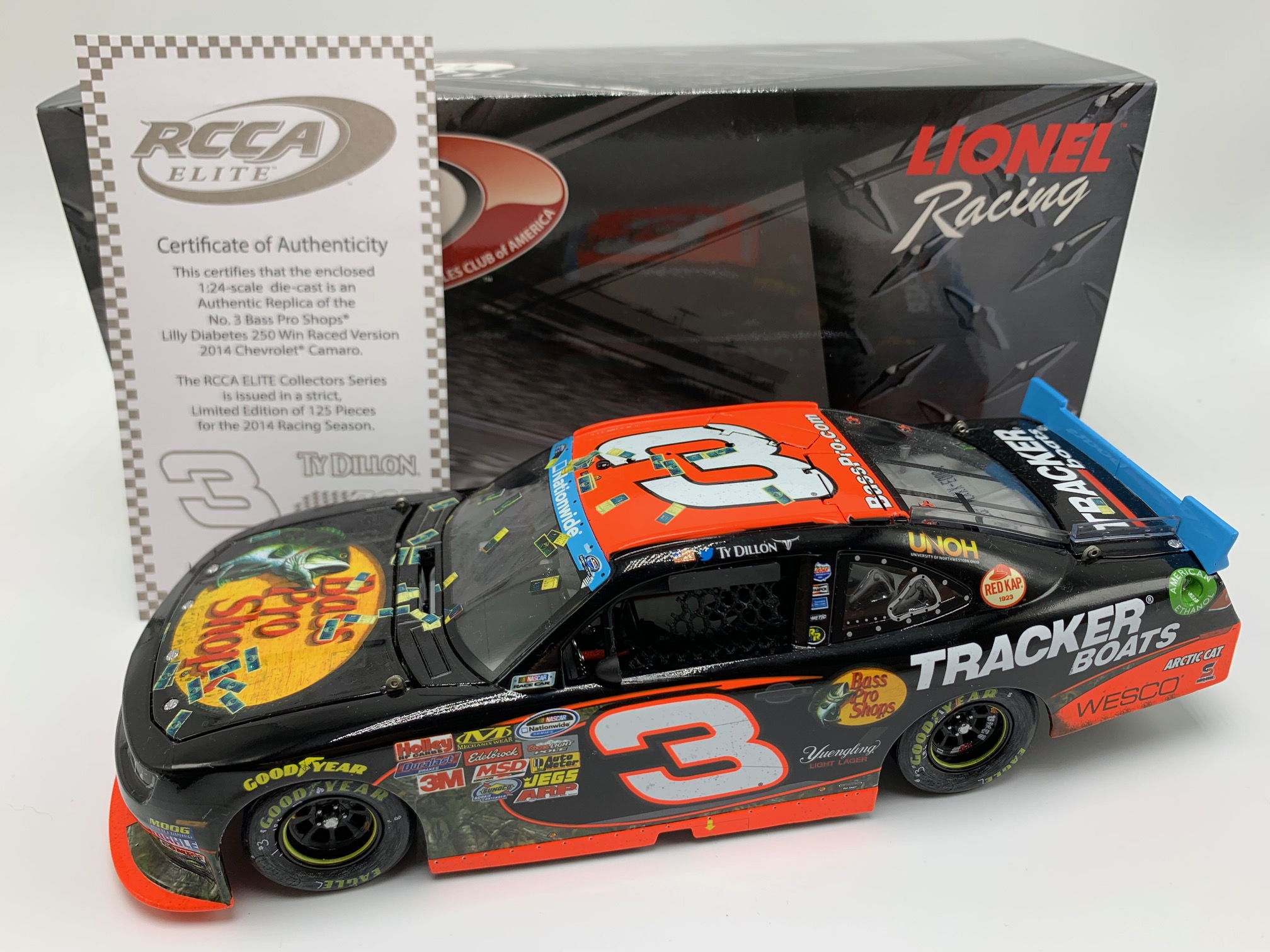2014 Ty Dillon ELITE Bass Pro Shops Indy Win
