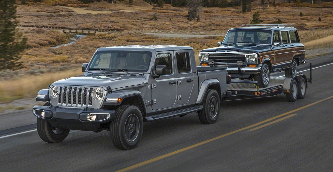 523fe750fb Jeep Gladiator Best-in-Class Towing Capacity and Payload