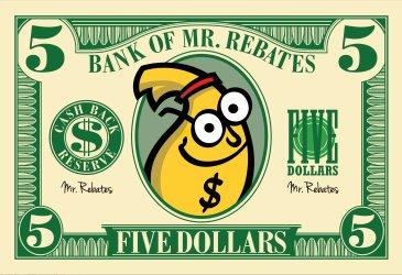 Mr. Rebates国外购物返现平台,购物即返5美元奖励