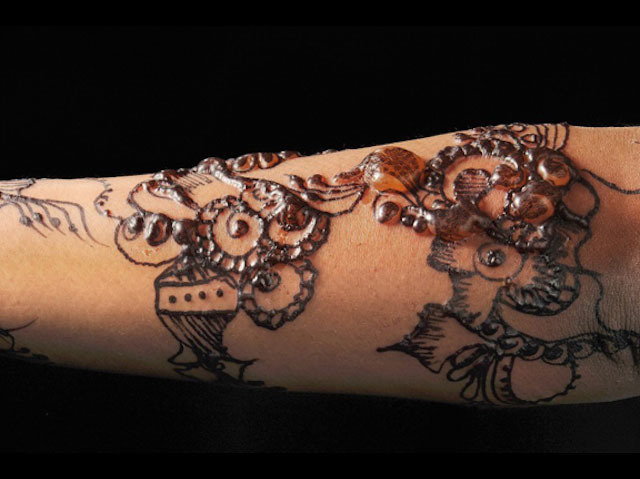 Common side effects of Mehandi