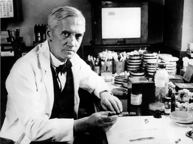 where appeared to be alexander fleming born
