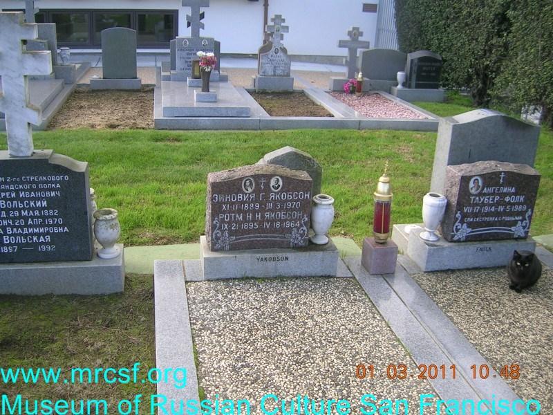Grave/tombstone of YAKOBSON Н.Н.