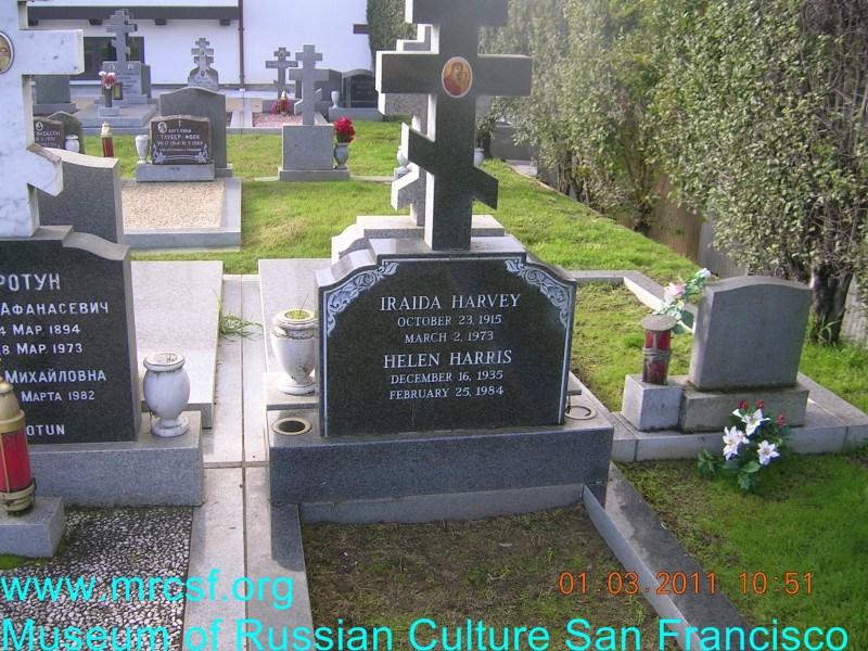 Могила/надгробие ХАРИС Helen