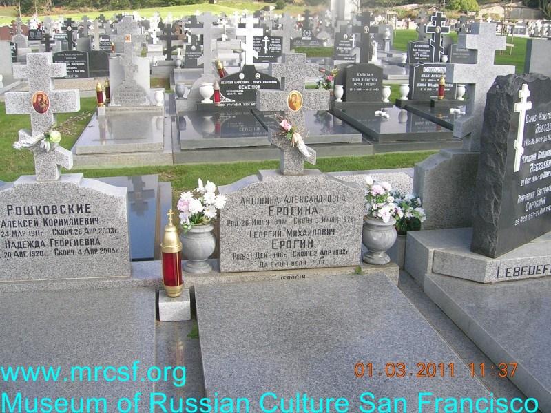 Grave/tombstone of IEROGIN Георгий Михайлович