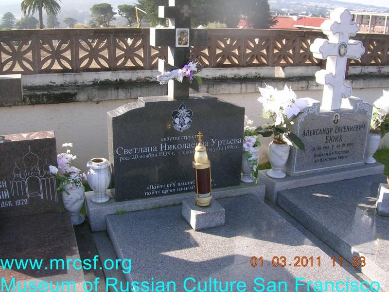 Grave/tombstone of URTIEW Светлана Николаевна