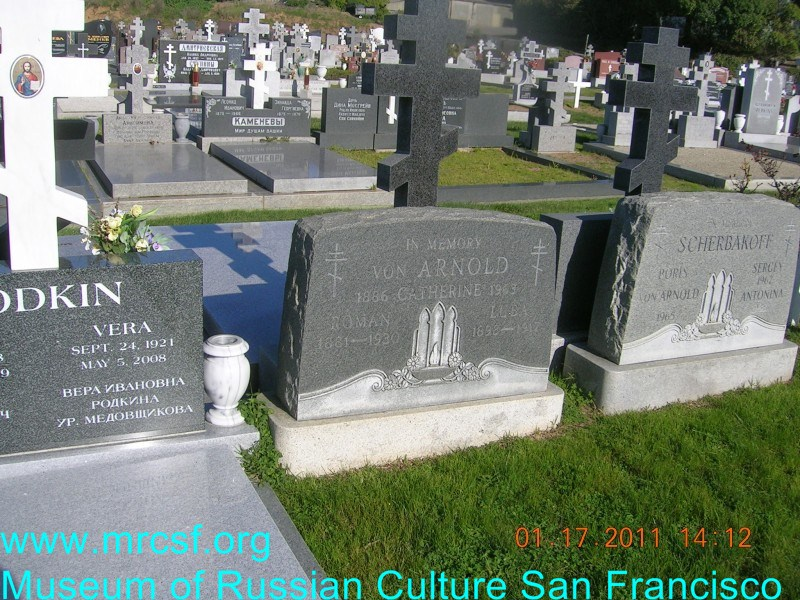 Grave/tombstone of ARNOLD von Екатерина