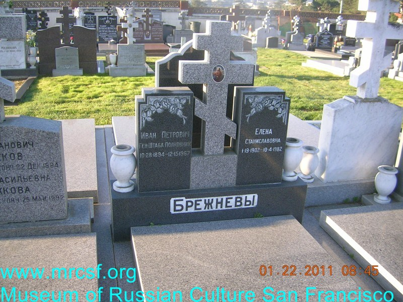 Grave/tombstone of BREZHNEFF Иван Петрович
