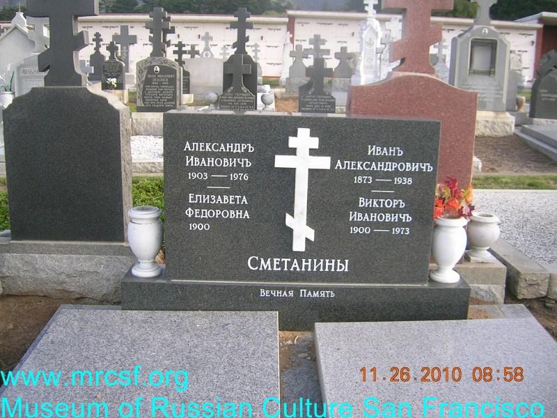Grave/tombstone of HARTMAN Александр Иванович