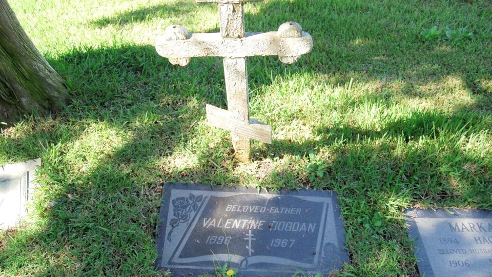 Grave/tombstone of BOGDAN Valentine